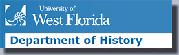 University of West Florida Department of History